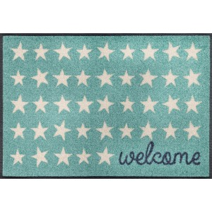 wash+dry Fußmatte Welcome Stars